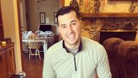 Backstreet Boys Fan Jeremy Vuolo Smiles In Sweater