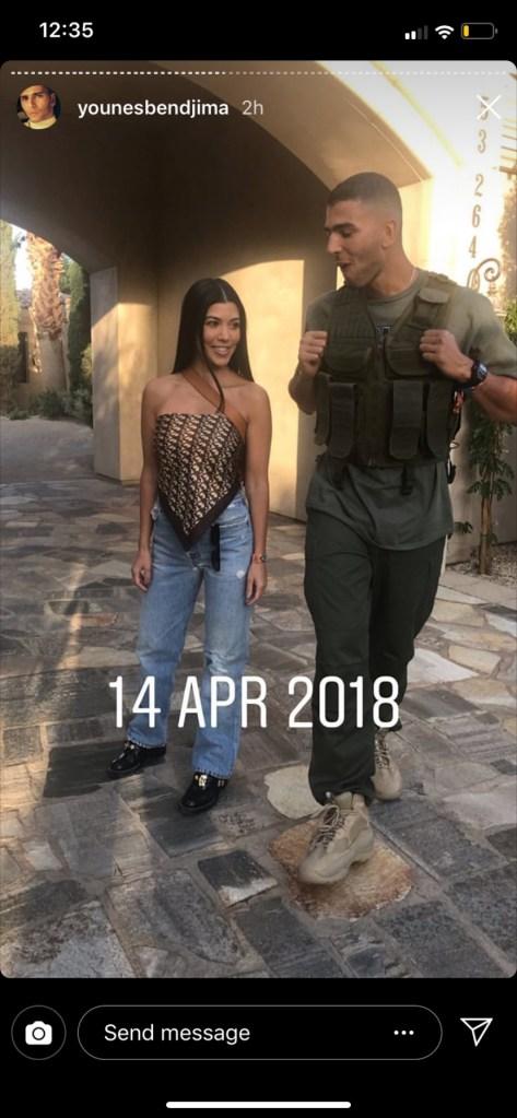 kourtney kardashian younes bendjima