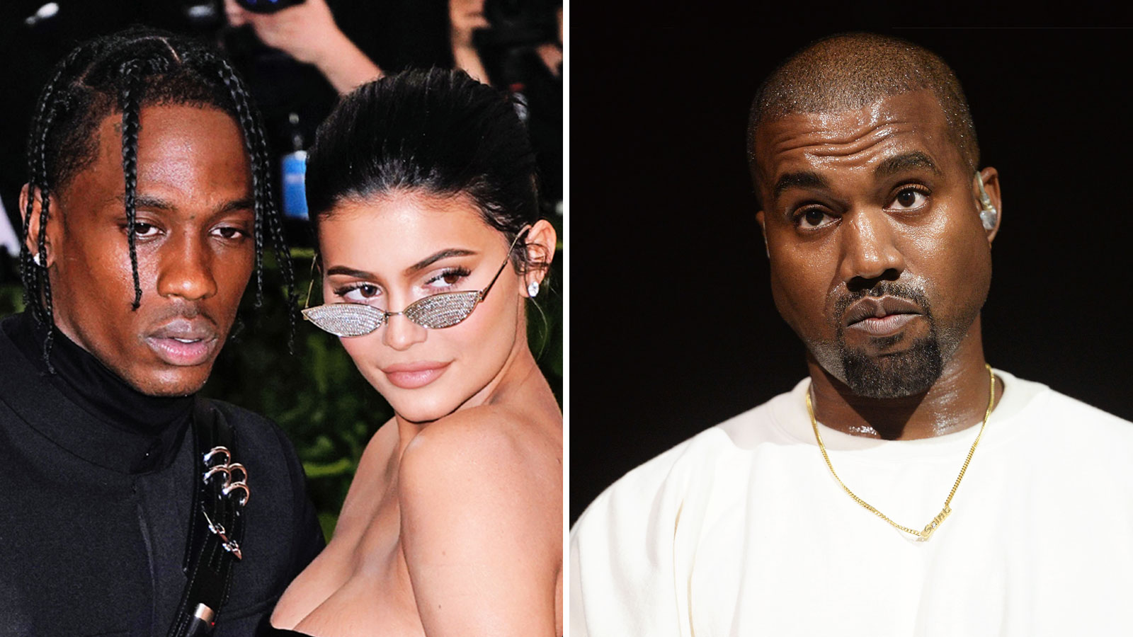 c0a58a3b5e52 Kylie Jenner Defends Travis Scott After Fans Call Him 'Petty' Amid Kanye  West Feud Rumors
