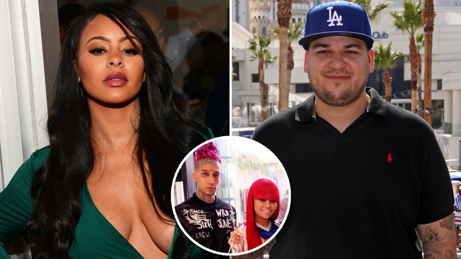 Alexis Skye Says She Loves Rob Kardashian In Heated Exchange With Blac Chyna's New Man