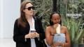 Angelina Jolie Daughter Zahara Looks So Grown Up