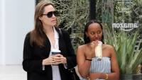 Angelina Jolie Daughter Zahara Looks So Grown Up