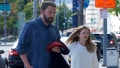 Ben Affleck Takes His Oldest Daughter Violet to See Cinderella