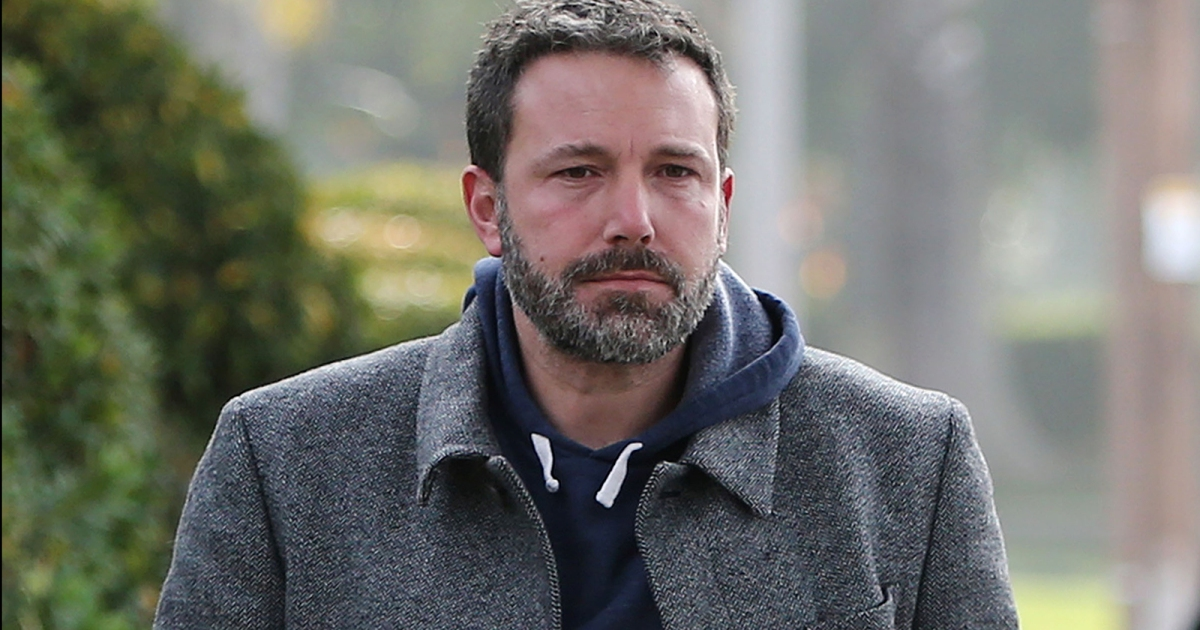 Ben Affleck Looks Tired During Stroll With Seraphina
