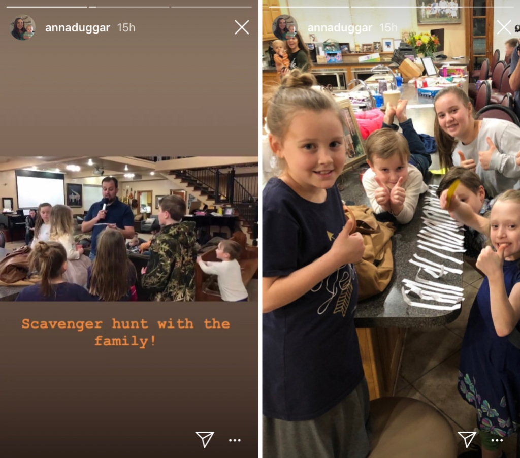 Cameraman Appears In Anna Duggars Instagram Story