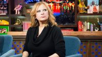 Caroline Manzo Looks Shady In All Black on Watch What Happens Live