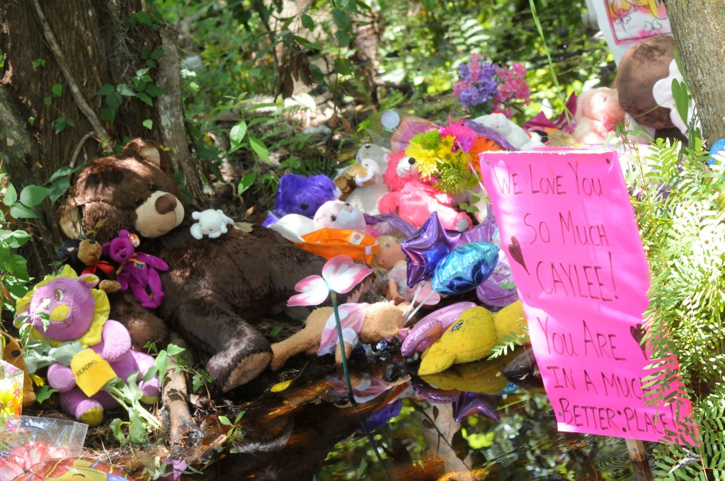 Caylee Anthony memorial