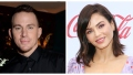A split image of Channing Tatum and Jenna Dewan