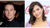 A split image of Channing Tatum and Jenna Dewan