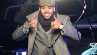 Chris Brown Gives Paparazzi A Thumbs Up Amid Sexual Assault Allegations