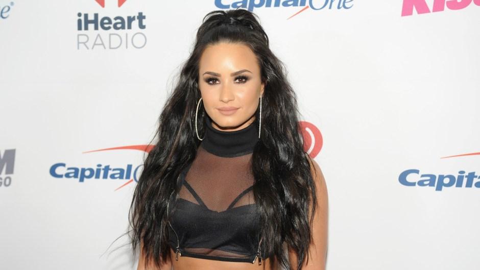 Demi Lovato NYE not drinking