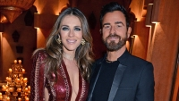 Justin Theroux and Elizabeth Hurley Are Into Each Other