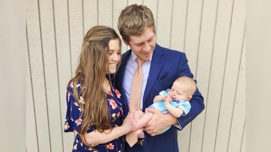 Family Photo of Joy-Anna Duggar And Austin Forsyth with son Gideon