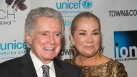 Regis Philbin with Kathie Lee Gifford at an event