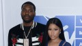 Nicki Minaj with ex Meek Mill at MTV VMAS