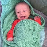 Gideon Forsyth In Green Blanket