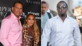 Diddy left a flirty comment on his ex Jennifer Lopez's sexy instagram picture and Alex Rodriguez noticed
