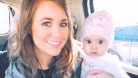 Jana Duggar Holding Niece Felicity Vuolo