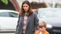 Jennifer Garner Out To Lunch With Samuel