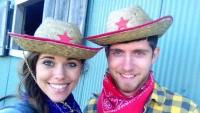 Jessa and Ben cowboy hats