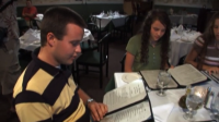 Jinger And Josh Duggar Look Confused At Italian Menu