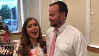 Josh Duggar Smiles At Anna Duggar At Josiah's Wedding