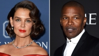 Katie Holmes Infatuated With Jamie Foxx