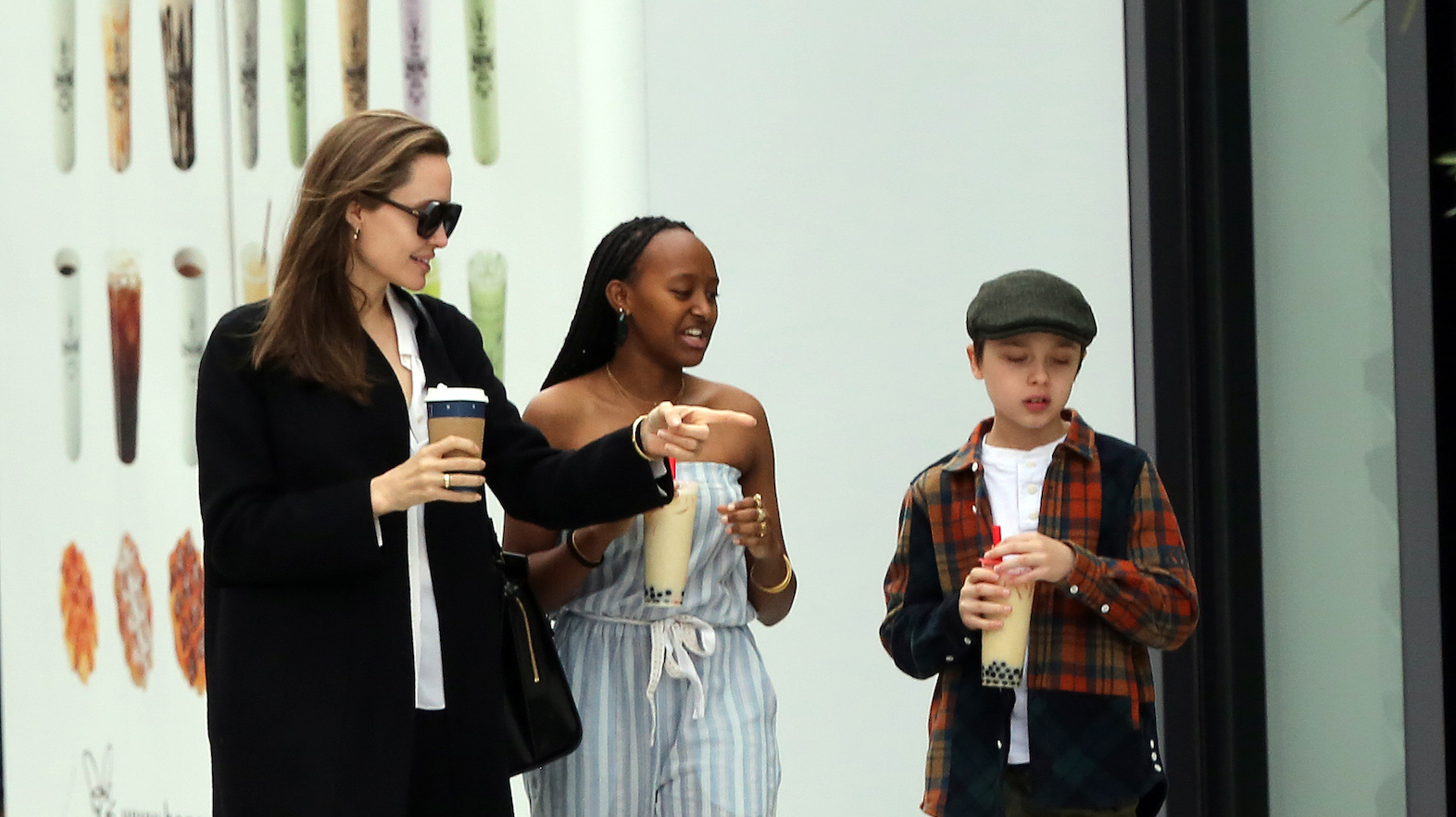 46bd5118274a All smiles here! It's been a tough few years for Angelina Jolie and her  kids ever since she filed for divorce from her estranged husband, Brad Pitt.