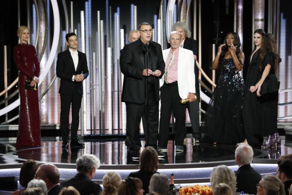 Nicole Kidman Rami Malek Golden Globes speech