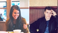Photo Of Jana Duggar Pointing At Panera And Photo Of Lawson Bates Sitting In Restaurant