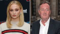 Sophie Turner Slams Twat Piers Morgan Over Comments On Mental Health