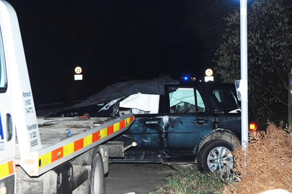 Prince Philips Land Rover Is Completely Mangled After Scary Crash
