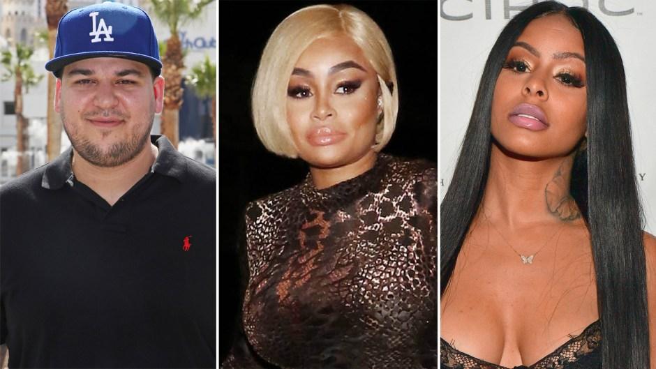Rob Kardashian Spends Time With Blac Chynas Enemy Alexis Skyy