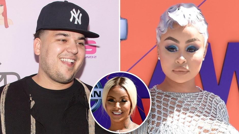 Rob Kardashian 'Loves' That Blac Chyna 'Can't Stand' Alexis Skyy