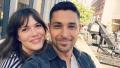 Mandy Moore with Wilmer Valderrama taking a selfie