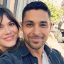 Mandy Moore with Wilmer Valderrama taking a selfie