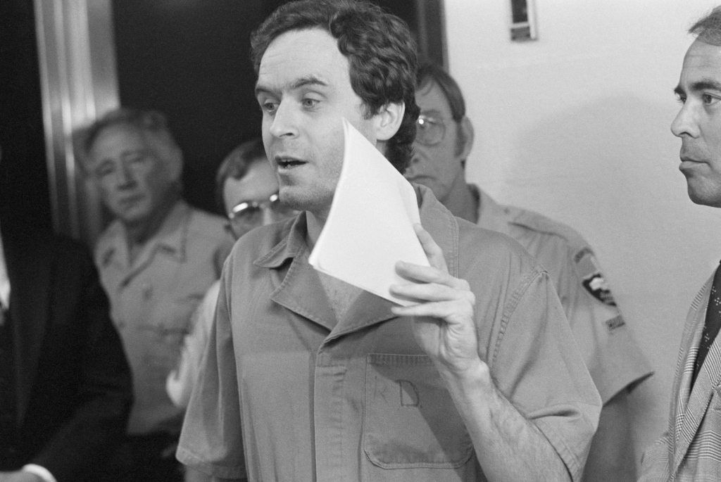 Ted Bundy in prison