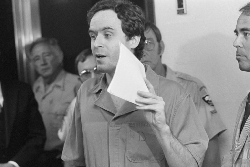 Ted Bundy in prison