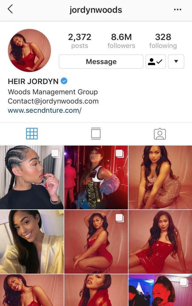 jordyn woods instagram