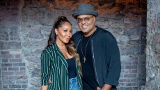 Adrienne Bailon and Husband Israel Houghton