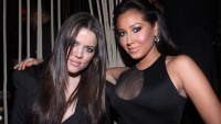 Adrienne Bailon and Khloé Kardashian Hanging Out in 2009