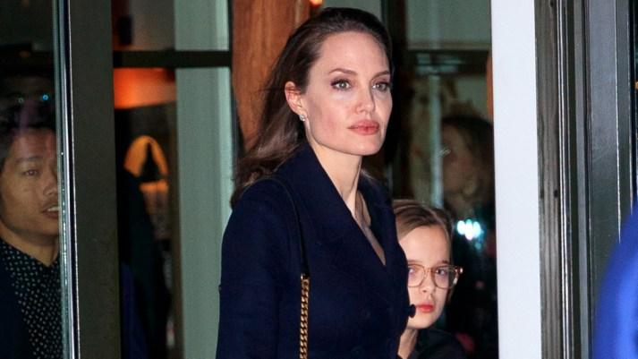 Angelina Jolie and Brad Pitts Daughter Zahara