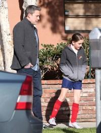 Ben Affleck takes daughter Seraphina for ice-cream in Santa Monica
