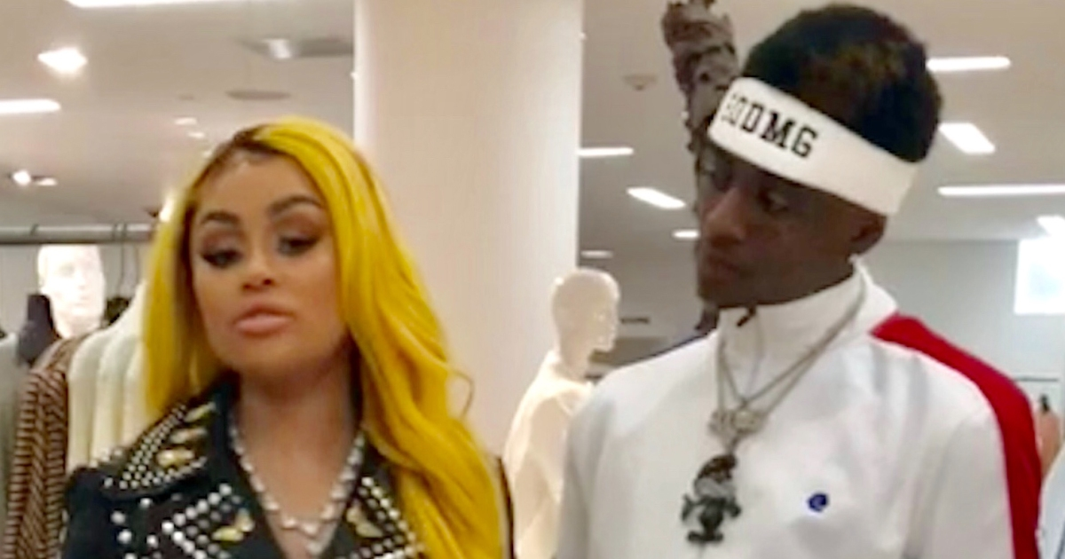 Blac Chyna and Soulja Boy Spotted Together Holding Hands Amid Dating Rumors
