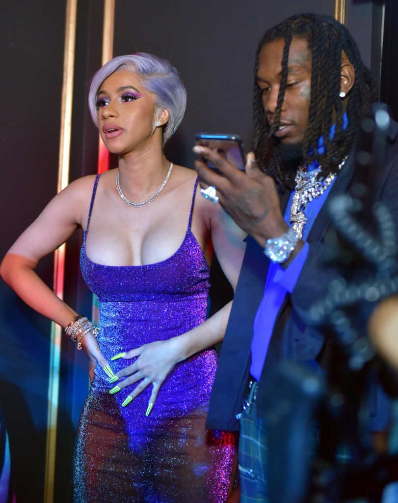 Cardi B And Offset Party On Super Bowl Weekend in Atlanta