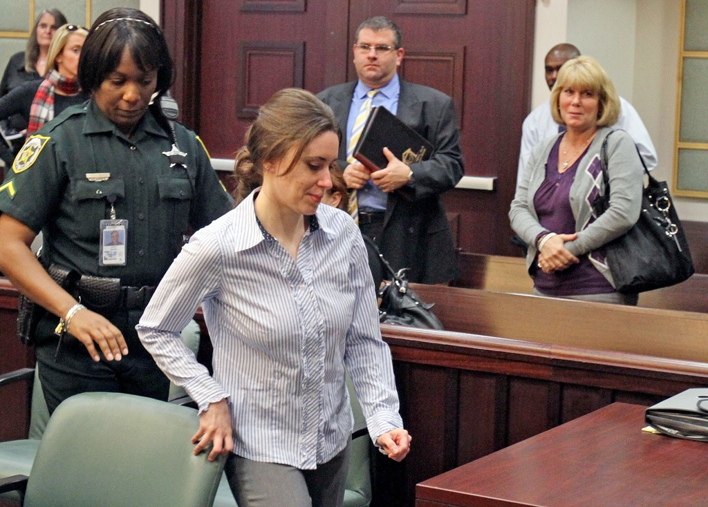 Casey Anthony mom in court