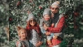 Chelsea Houska And Family In Apple Orchard