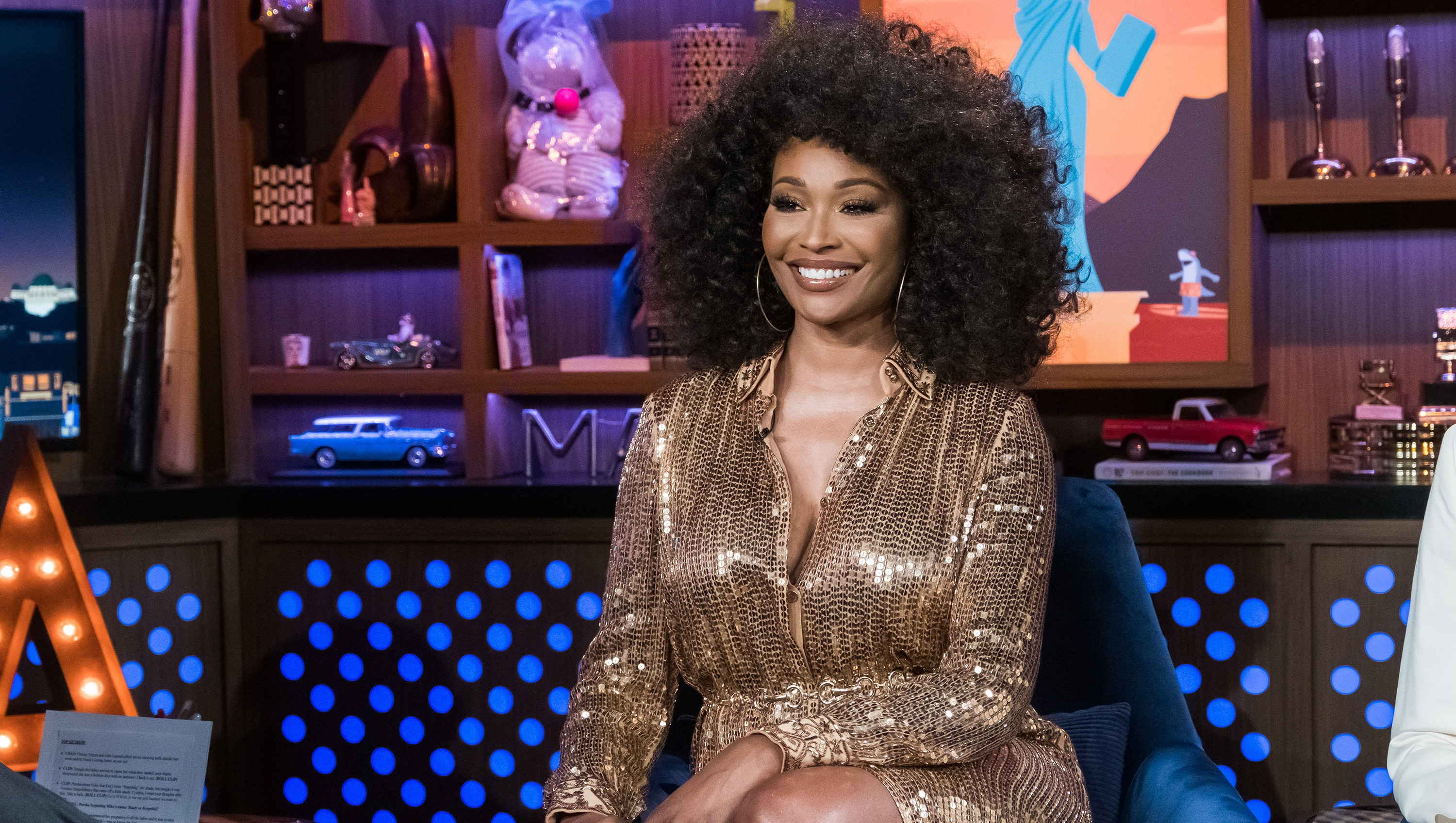 Cynthia Bailey on WWHL