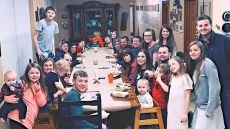 Duggar Family Valentine's Day Dinner