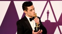 rami malek with his oscar